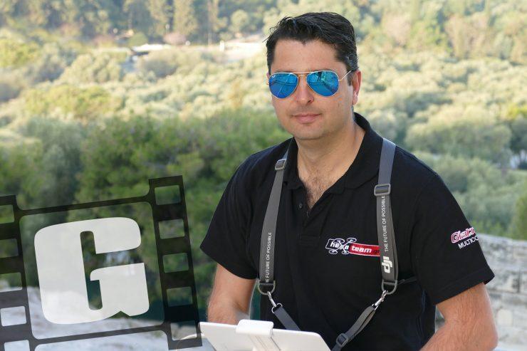Chris Giatrakos filmmaker Drone pilot