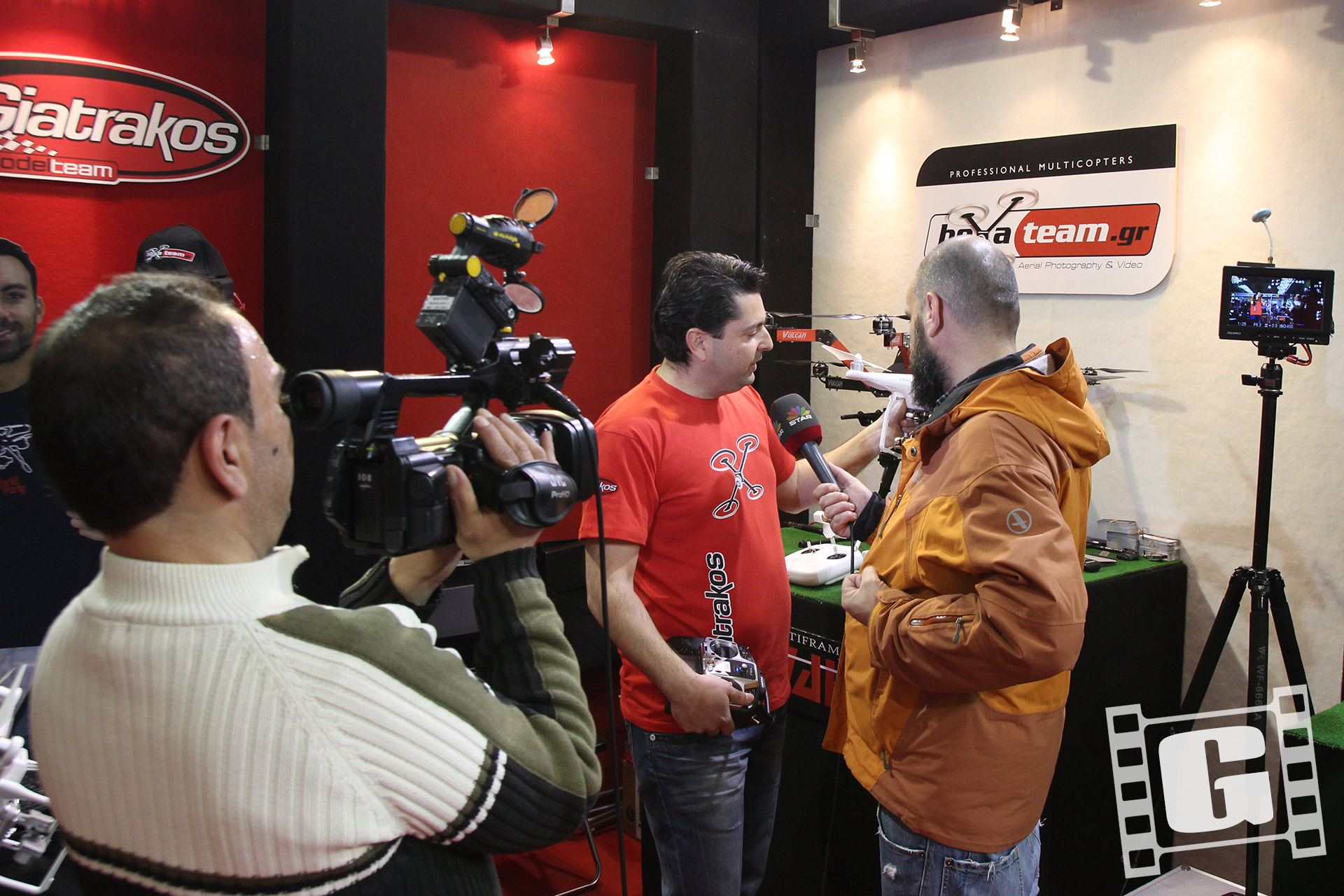 photovision 2015, drone, Greece, SMIEA, Giatrakos Chris, hexateam, TV, STAR CHANNEL