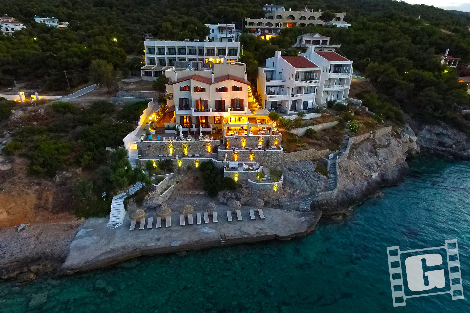 Hotel Kekrifalia, Agistri Island, Greece, Κεκρυφάλια, Αγκίστρι, Photos, Video by Giatrakos