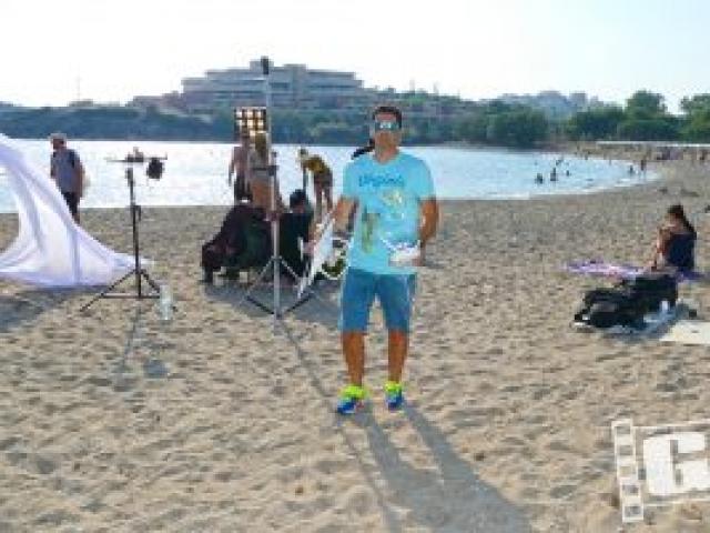 Νατάσα Θεοδωρίδου, Ανήσυχος Καιρός, Natasa Theodoridou, Anisihos Keros, Chris Giatrakos, backstage, videoclip