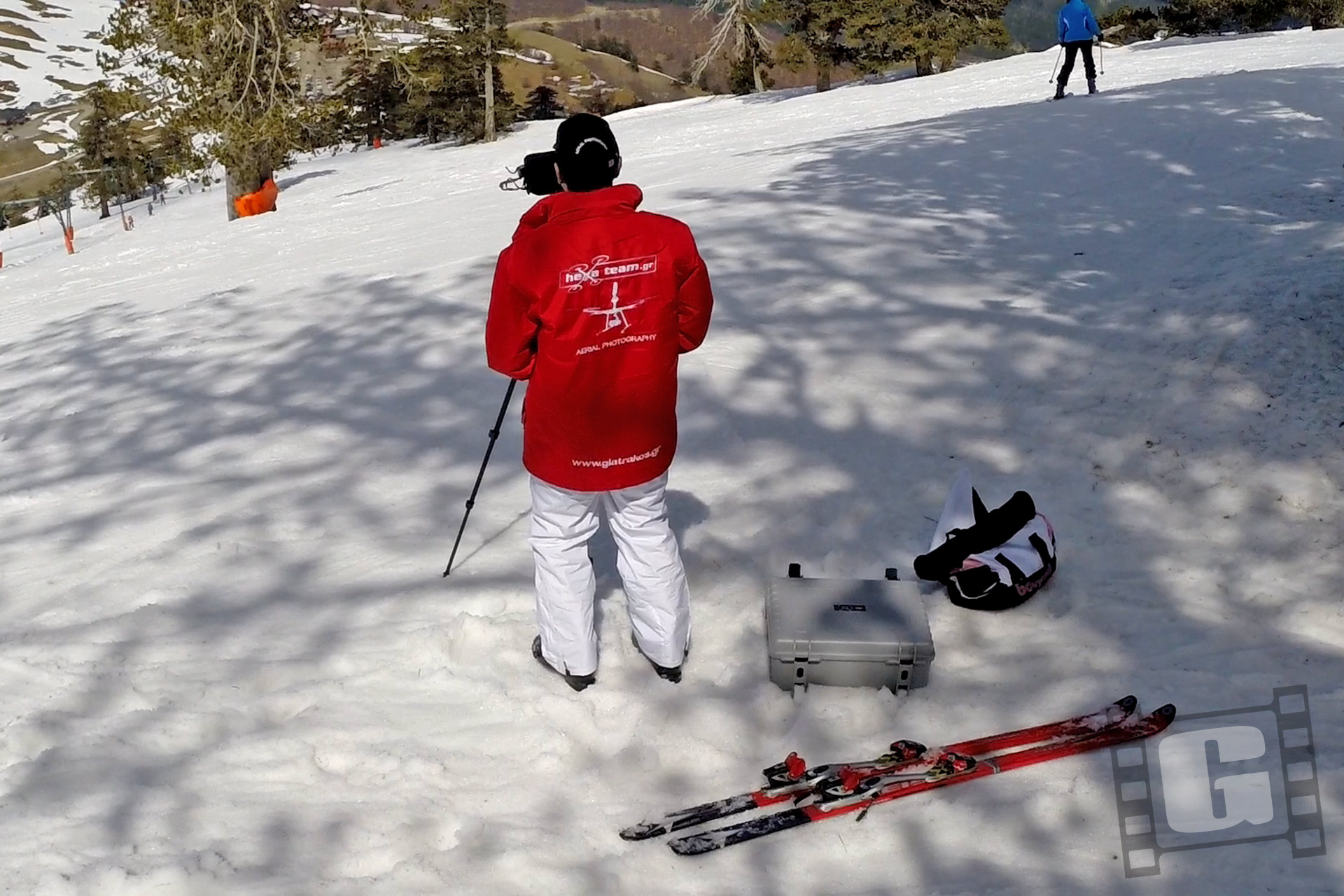 Vasilitsa Ski Center, Βασιλίτσα, Drone Video, εναέριο βίντεο, parkoluna, red bull, Chris Giatrakos