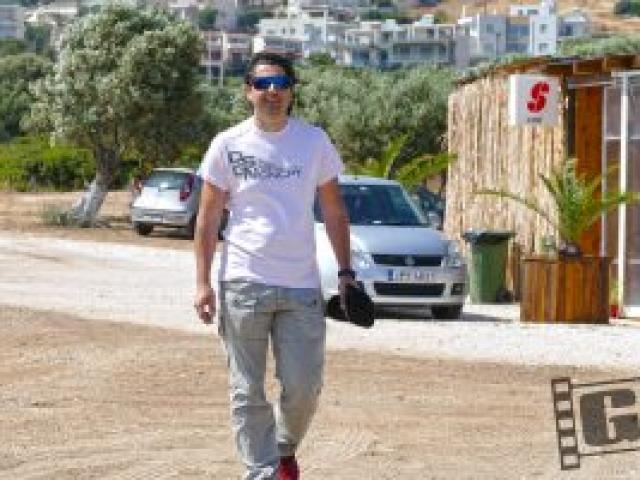 Ilias Vrettos, oute mera makria sou, videoclip, backstage, Giatrakos Chris
