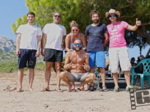 Survival, Kostas Sommer, Epsilon TV, Kourouta beach, Chris Giatrakos, Drone
