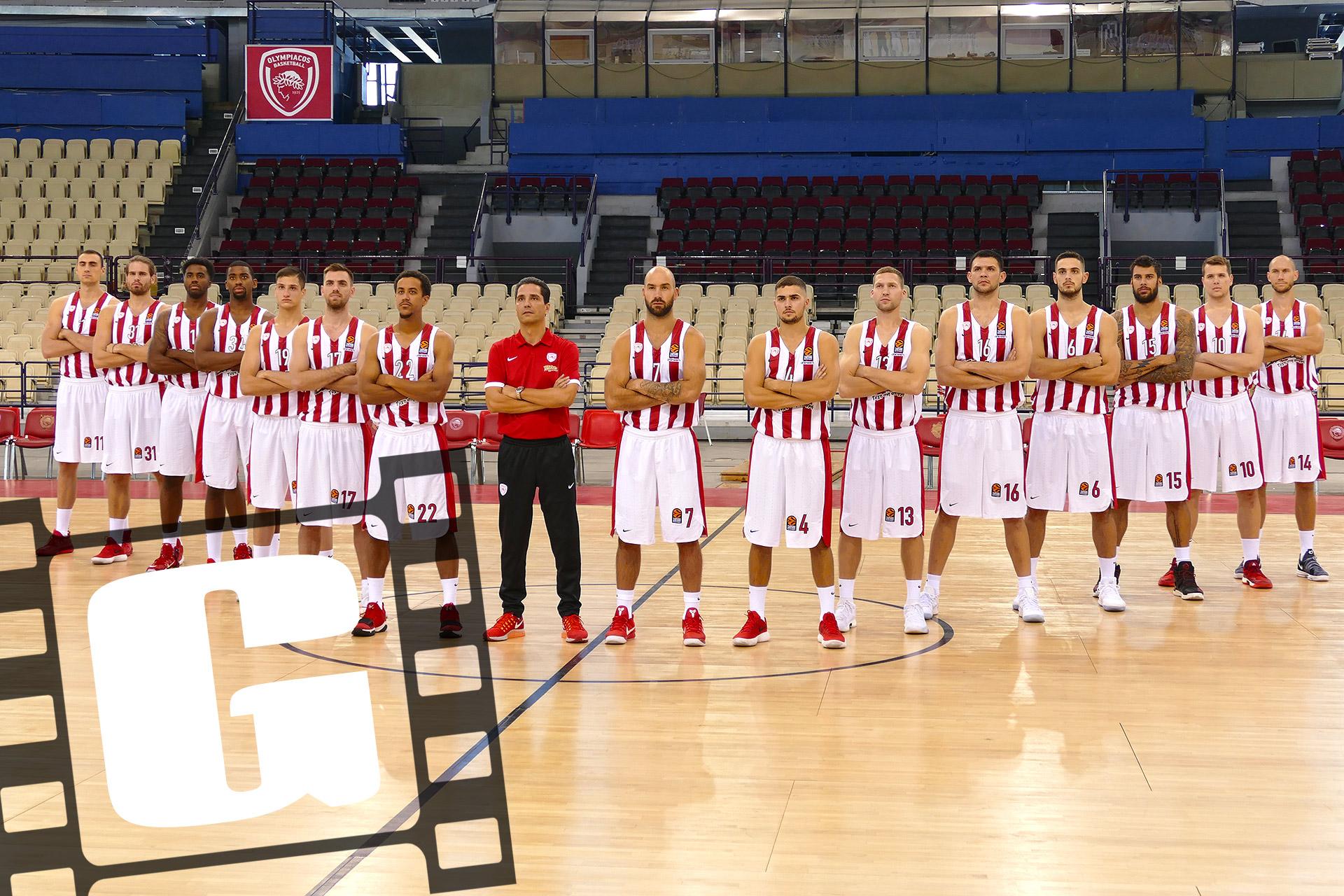 OLYMPIACOS basketball team