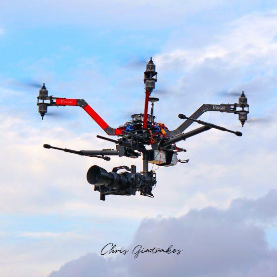 Rent a drone Pilot Greece, Chris Giatrakos